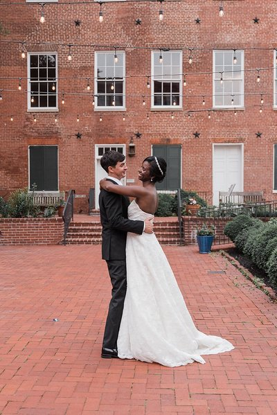 1840's Plaza and Ballroom Baltimore Wedding_0009