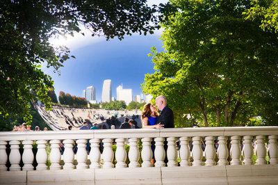 Millennium Park Engagement Prewedding