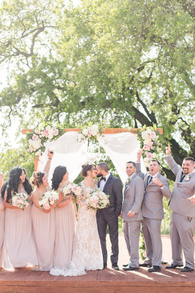 A rustic glam winery wedding at the Hanford Ranch Winery by Adrienne and Dani Photography