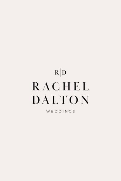 Rachel Dalton Secondary Logo | Wedding Planner Branding