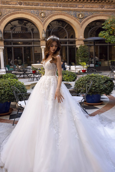 Tina Valerdi Wedding Dress 2
