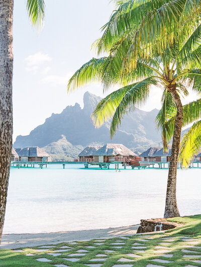 Bora Bora four seasons landscape view