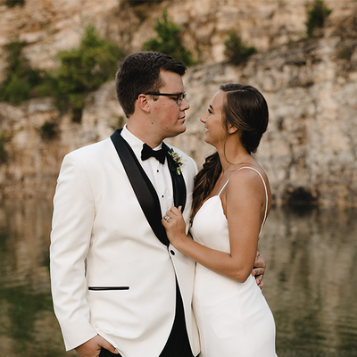 Brendel & Josh Sunset Bluffs St. Louis Early September Wedding