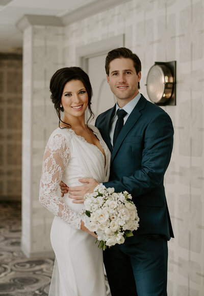 A Touch of Bliss, Bachelor Weddings, JJ and Kayla, Ironworks Wedding, Classic Wedding