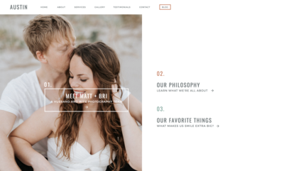 With Grace and Gold - Branding, Web Design, and Education for Creative Women in Business - Showit Design, Designs, Designer, Designers, Theme, Themes, Template, Templates - 2