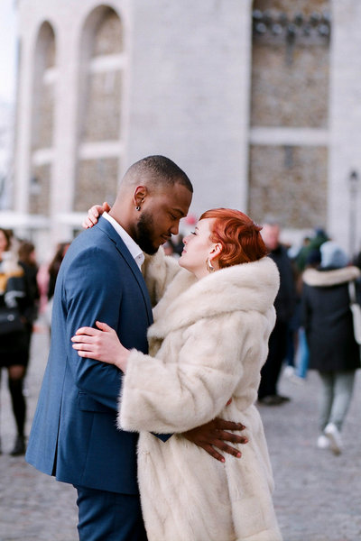 Paris Elopement PAris wedding photographer Gabriella Vanstern