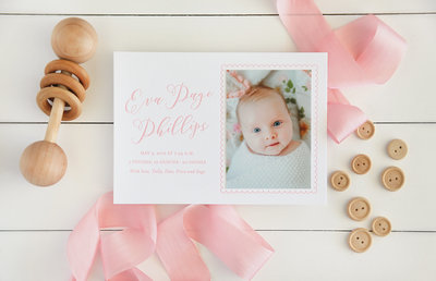 Letterpress-Birth-Announcement-Pink-Baby-scallop-2000