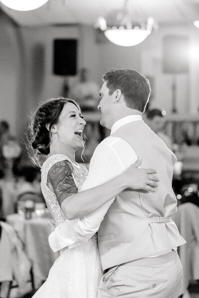 Omaha Wedding Photography First Dance