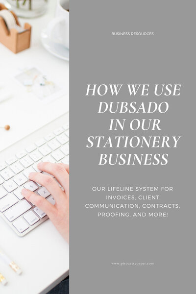 dubsado-in-stationery-business