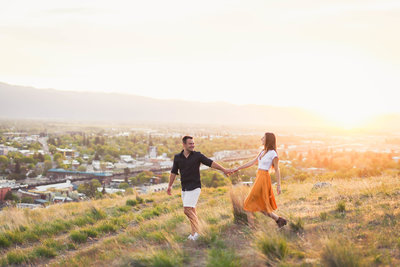 Tommy and Jo | Waterworks Hill, Missoula MT