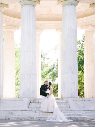 Klaire-Dixius-Photography-Washington-DC-Wedding-Photographer-War-Memorial-Lincoln-Memorial-Capitol-Building-District-Winery-Elopement-Omkar-Jaclyn-B&G154