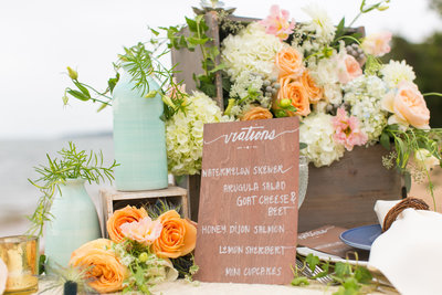 Styled Tablescape Baltimore Wedding Photographer