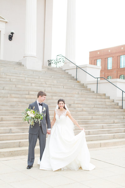 Downtown Rooftop Wedding