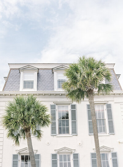 Luxury home in the French Quarter of Charleston South Carolina Photographed by Amy Mulder Photography