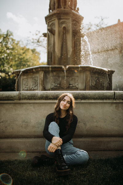 Senior photo in Oil City and Franklin PA