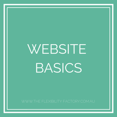 Website Basics (2)