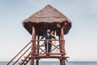 Moon Palace wedding venue photos in Cancun, Mexico