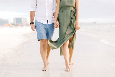 © 2019 Ashley Nicole Photography - Clearwater Beach Engagement_Florida_Beach_Walking