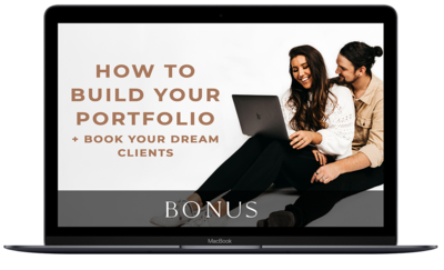 Embracing Connection Masterclass how to build your portfolio bonus graphic