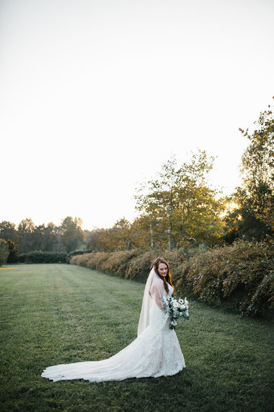Bride Field Photoshoot North Carolina