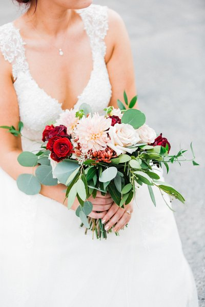 st louis wedding bridal bouquet
