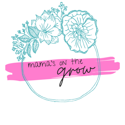 Mama's on the grow logo