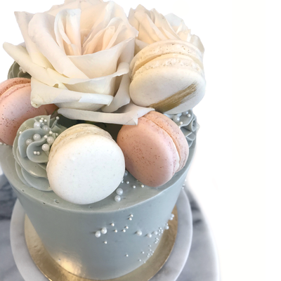 Whippt Sig Luxe Cake - Floral Macaron 3