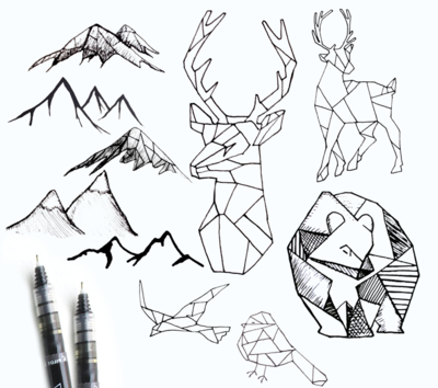geometric wildlife3