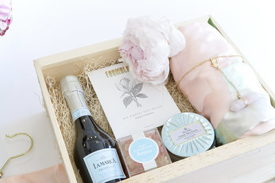 Custom curated gift boxes.