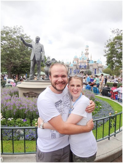 Utah Wedding Photographers - 5 Tips for a Magical Disneyland Honeymoon_0003