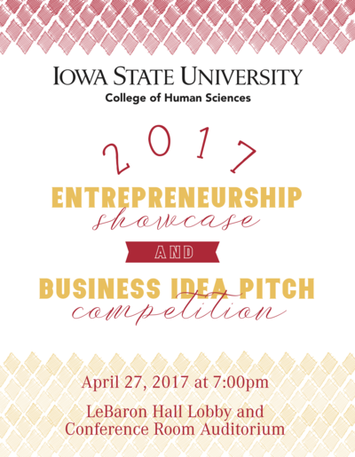 Showcase & Pitch Poster