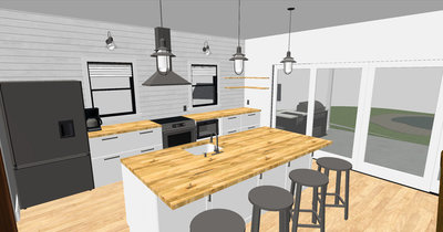 modern farmhouse kitchen design 2