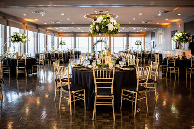 Classic Black & Gold Wedding Gallery