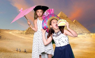 green screen magic for a bat mitzvah party