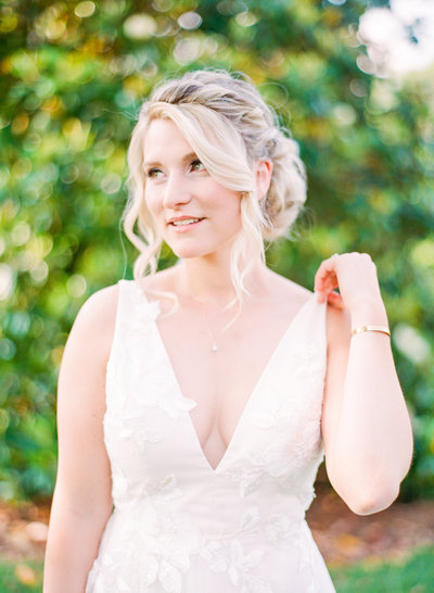Christa O'Brien Photography film wedding bride