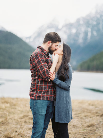 montana engagement couple