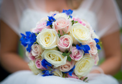 Bridal Bouquet at Cockliffe country house