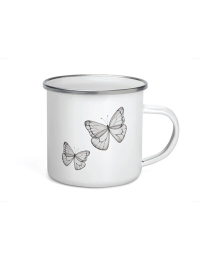 Multi-Butterfly-Enamel
