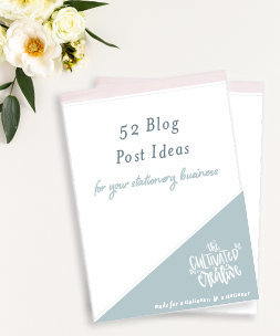 blogging topics for your stationery business