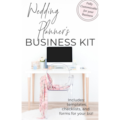 wedding planner business kit