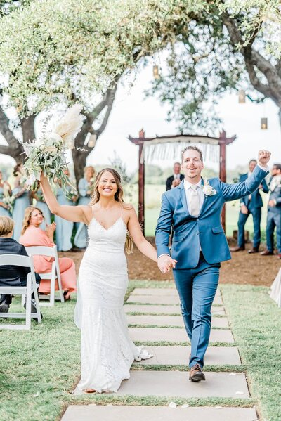 Dallas couple celebrating down the aisle