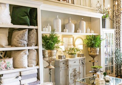 Home decor and gift shop in New Albany, Mississippi
