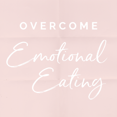 overcome emotional eating pdf digital workbook