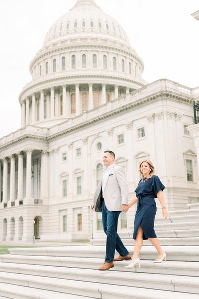 Washington DC Capitol Building Engagement