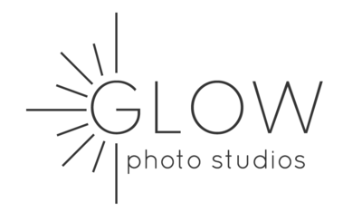 Glow Photo Studios Logo Wide transparent