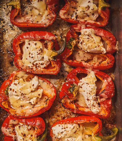 roastedstuffedpeppers