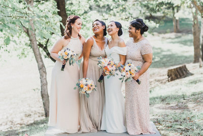 M. Harris Studios - Bride and Bridesmaids