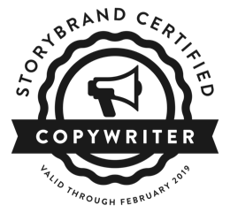 Web - StoryBrand Copywriter Badge BLACK