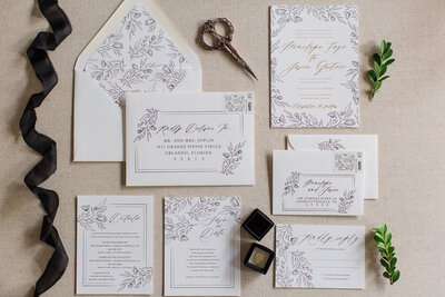 Modern Boho Wedding Invitations