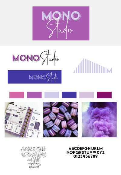 Mono Studio Brand Board Purple copy